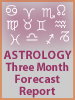 Astrology Three Month Forecast Report