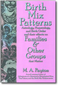 Birth Mix Patterns: Astrology, Numerology and Birth Order and their effects on Families, and Other Groups that Matter